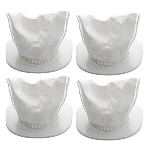 HoLife Replace Washable Filters for Cordless Handheld Vacuum Model-HLHM036, HLHM208 [4-Pack]