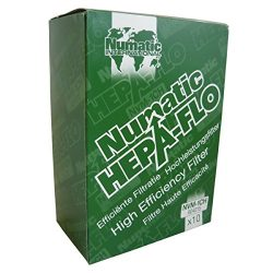 """Numatic NVM-1CH HepaFlo' Disposable Filter Bags Pack – for the """"Henry"""" H ..."""