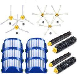 EEEKit Replacement Accessories Kit for iRobot Roomba 600 Series 690 680 660 655 650 & 500 Se ...