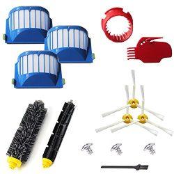 VacuumPal 10pcs Accessories for iRobot Roomba 600 Series 595 614 620 630 645 650 655 660 680 690 ...