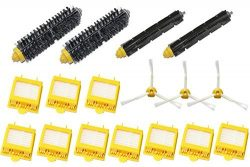 SHP-ZONE 3-Armed Side Brush & Hepa Filters & Bristle Brush & Flexible Beater Brush P ...