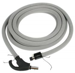 Cen-Tec Systems 90177 Central Vacuum 35 Feet Direct Connect Electric Hose with Hose Sock and Loc ...