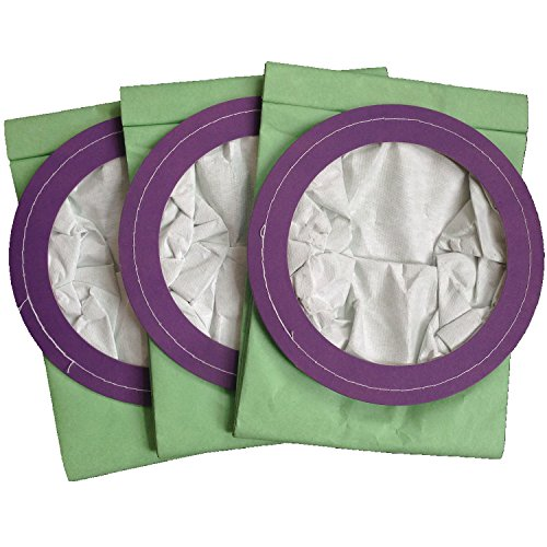 Clean Fairy 10 pack micro filter vacuum bags replacement Pro-team 10 Qt. bag fits Coachvac Super ...