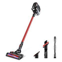 Cordless Stick Vacuum Cleaner, Maxkon 3 In 1 Lightweight Handheld Bagless Vacuum Cleaner Tools,  ...