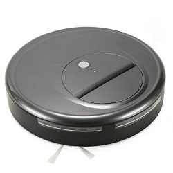 FINE DRAGON Low Profile Robotic Vacuum Cleaner Automatic Robot Sweeper for Hardwood and Tile Flo ...
