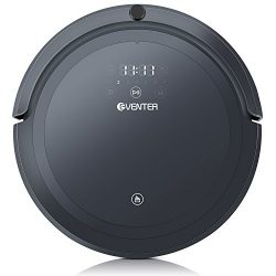 EVENTER Vacuum Cleaning Robot with Strong Suction, Auto-Charging Floor Cleaning and Mopping Robo ...