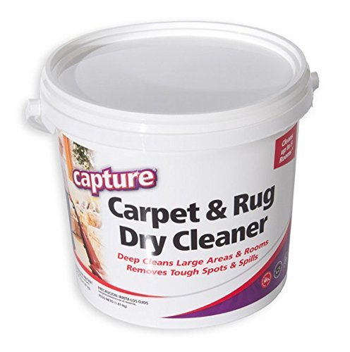 Capture Carpet Dry Cleaner Powder 4 Pound Resolve