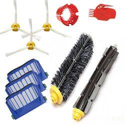 Amyehouse Replacement Parts Kit Bristle Brush & Flexible Beater Brush & Aero Vac Filter  ...