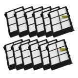 MZY LLC 12 Pack Hepa Filter Filters Replacement For irobot Roomba 800 series 870 880 Robotic Vac ...