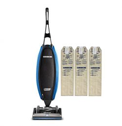 Oreck Upright Vacuum Cleaner LW100 Magnesium SP with 3 HEPA Bags | Carpets, Tile and Hardwood Fl ...