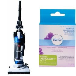 Bissell Aeroswift Compact Bagless Upright Vacuum, 1009 – Corded and Febreze Bissell Aerosw ...