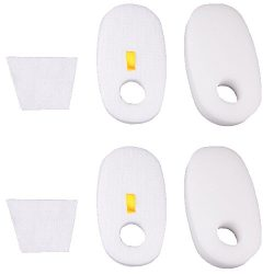 Amyehouse 2 Packs Foam & Filter Kit for Shark Rocket Deluxe Pro HV319Q, HV320, HV320W, HV321 ...