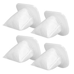 Homasy Replaceable Filter for Cordless Handheld Vacuum Cleaner, Washable and Reusable, 4 Pack Va ...