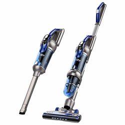 Holife 2-in-1 Stick Vacuum and Handheld Vacuum, Cordless Hand Vacuum Cleaner, 25.2V 380W 20Kpa P ...