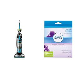 Bissell Powerglide Pet Hair Bagless Vacuum Cleaner, Blue with Febreze Style 12141 PowerGlide Lif ...