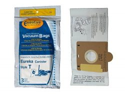 EnviroCare Replacement Vacuum Bags for Eureka Style T 970 980 Canisters 6 Pack