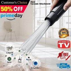 Universal Vacuum AttachmentsBrush Cleaner Dirt Remover Vacuum Cleaning Tool Attachment Handy Fle ...