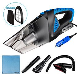 Car Vacuum Cleaner High Power,Morpilot 5500Pa DC 12V 120W Portable Handheld Auto Vacuum Cleaner  ...