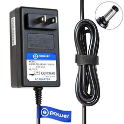 T POWER Ac Dc Adapter Charger for ILIFE A4, A4s, A6, V1, V3, V5, V5 Pro, V7, X5 Robotic Vacuum C ...