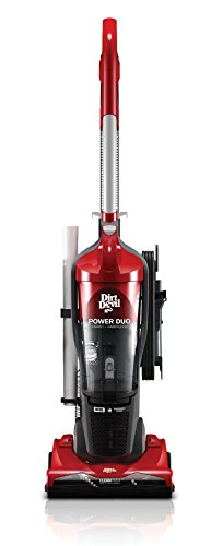 Dirt Devil Power Duo Carpet and Hard Floor Cyclonic Bagless Corded Upright Vacuum UD20125B