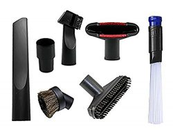 Wonlives Universal Replacement 32mm (1 1/4 inch) Vacuum Cleaner Accessories Brush Kit for Standa ...