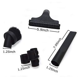 EZ SPARES 4PCS Universal Replacement 32mm Vacuum Cleaner Accessories PP Hair Brush Kit For Hoove ...