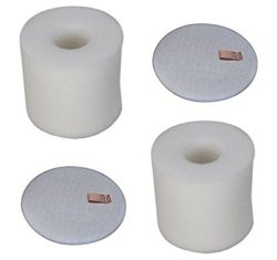 2 Pack Shark Rotator Lift-Away NV650 Foam & Felt Filter Set Fits NV650, NV650W, NV651, NV652 ...