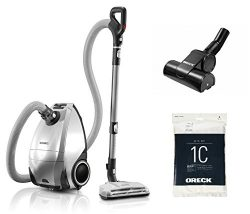 Oreck Venture Pro PetPower Multi Floor Bagged Canister Vacuum Cleaner | Carpet, Tile and Hardwoo ...
