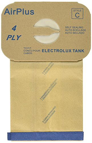 12 Electrolux Canister Vacuum Bags [Health and Beauty]