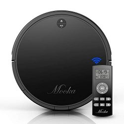 Robot Vacuum Cleaner, MOOKA I3, Powerful Suction, Self-Charging Robotic Vacuum Cleaner, HEPA Fil ...