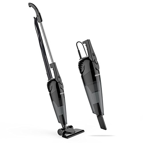 SOWTECH Stick Vacuum 2 in 1 Lightweight Corded Upright and Handheld Vacuum Cleaner, HEPA Filtrat ...