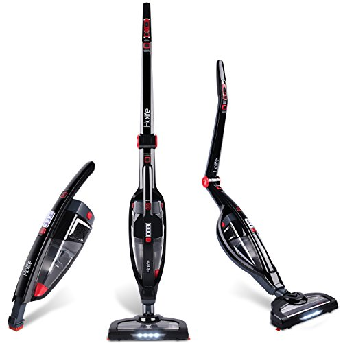 HoLife Cordless Vacuum Cleaner, 2 in 1 Stick Vacuum Cleaner, Handheld Vacuum with High Power &am ...