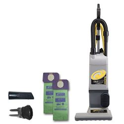 ProTeam ProForce 1500XP Bagged Upright Vacuum Cleaner with HEPA Media Filtration, Commercial Upr ...