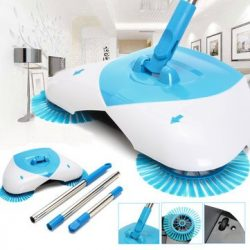 Paw Drive Carpet Sweeper – Automatic Hand Push Sweeper Broom Household Floor Mop Electric  ...