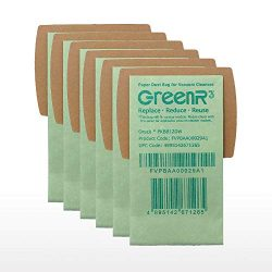 GreenR3 6-PACK Paper Vacuum bags For ORECK PKBB12DW fits Buster B Portable Canister Super-Deluxe ...