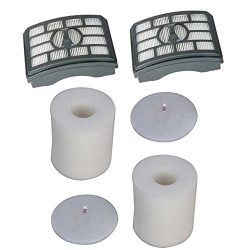 Anboo HEPA Filter & Foam Filter Kit Fit for Shark Rotator Pro Lift-Away NV500, NV501 NV502 N ...