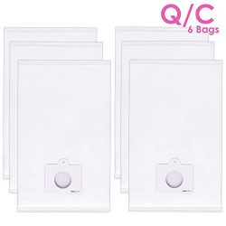 6 Pack Type Q C HEPA Cloth Vacuum Bags for Kenmore 5055 50557 50558 C5 Canister Vacuums