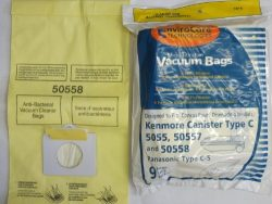 EnviroCare Replacement Micro Filtration Vacuum Bags for Kenmore Canister Type C or Q 50555, 5055 ...