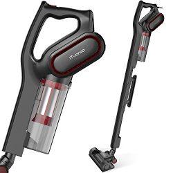 iTvanila Vacuum Cleaner,Stick Bagless Vacuum Cleaner, 600W Lightweight Corded 2 in 1 handheld va ...