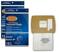 EnviroCare Replacement Vacuum bags for Oreck Buster B canisters, Portable Canister Vacuum Cleane ...