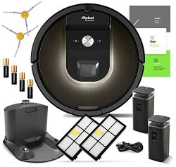 iRobot Roomba 980 Robotic Vacuum Cleaner with Wi-Fi Connectivity + Manufacturer's Warranty ...