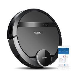 ECOVACS DEEBOT 901 Robotic Vacuum Cleaner with SmartNavi 3.0, Systematic Back-and-Forth Cleaning ...