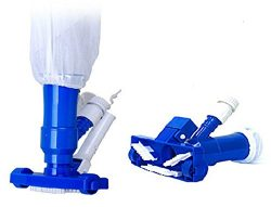 PoolSupplyTown Mini Jet Vac Vacuum Cleaner w/ Brush, Bag (No Pole Included) For Pool, Spa, Jacuz ...