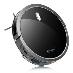 Robot Vacuum Cleaner, Oregon Scientific 1400pa High Suction Robotic Vacuum with Remote Control,  ...